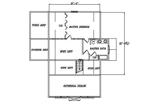 Log Home Plan #03253