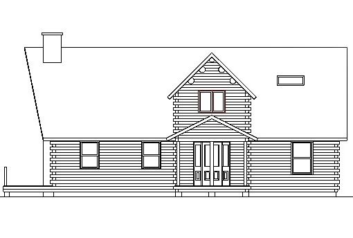 Log Home Plan #03253
