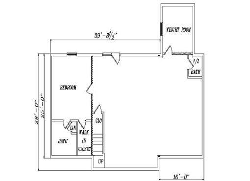 Log Home Plan #04214