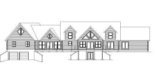 Log Home Plan #04310