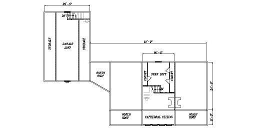 Log Home Plan #04361