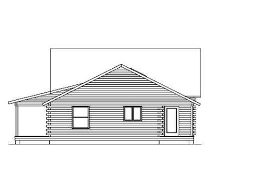 Log Home Plan #05365