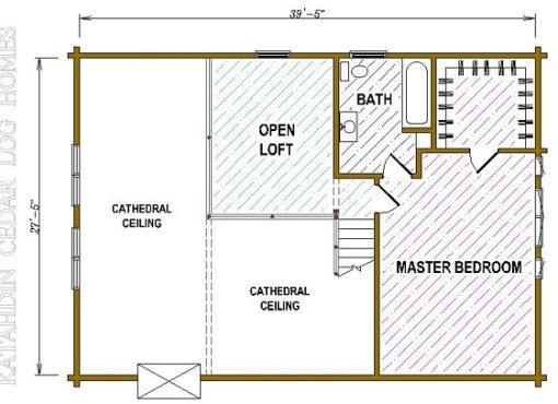 Log Home Plan #05378