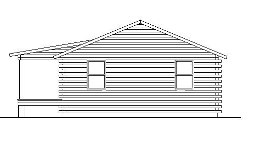 Log Home Plan #05392