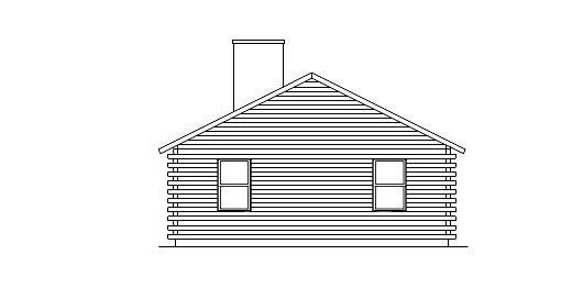 Log Home Plan #05396