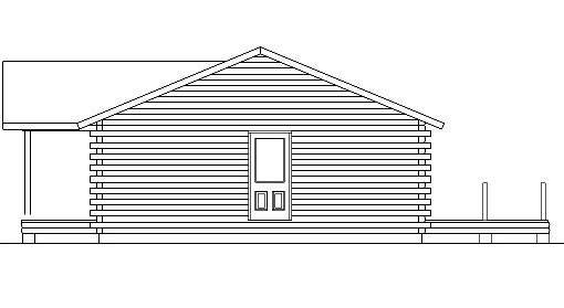 Log Home Plan #05411