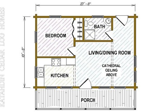 Log Home Plan #05416