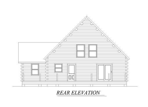 Log Home Plan #05485