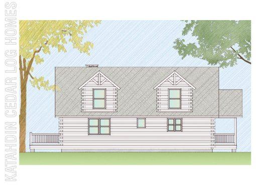 Log Home Plan #06643
