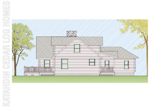 Log Home Plan #06660