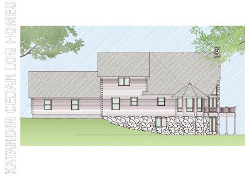 Log Home Plan #07793