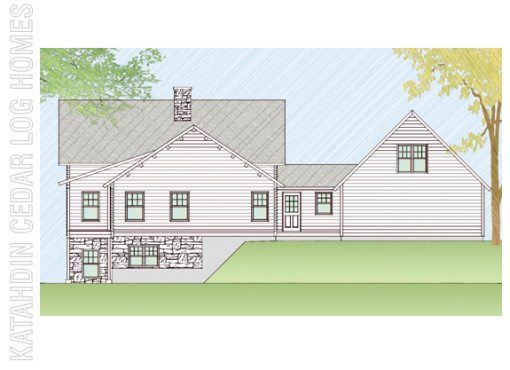 Log Home Plan #08926