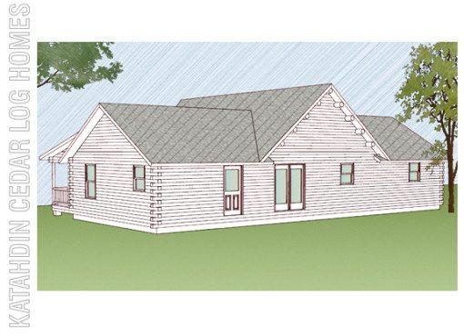 Log Home Plan #09939