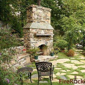 One way to extend the season of outdoor terraces and patios is the addition of an outdoor fireplace. It can be the visual and social centerpiece of your outdoor entertaining and add value to your home. One company