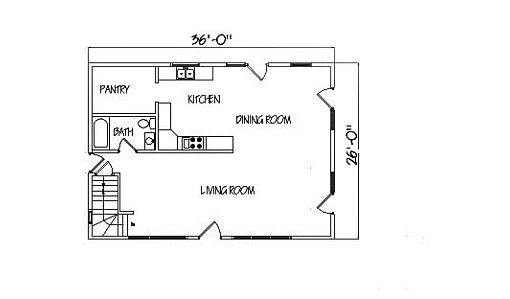 Log Home Plan #99530