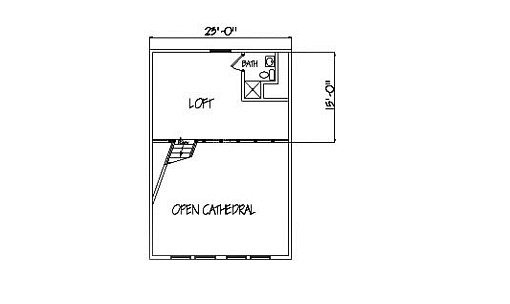 Log Home Plan #99567