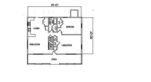 Log Home Plan #99578