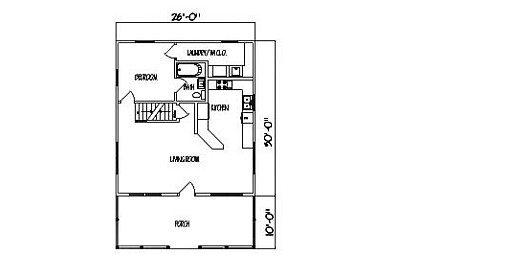 Log Home Plan #99587