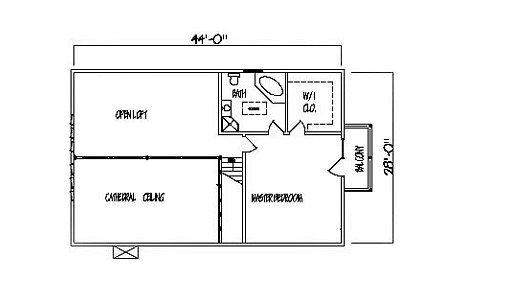 Log Home Plan #99625
