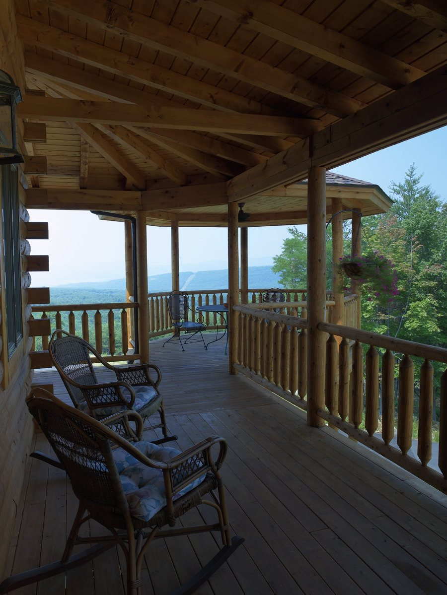 Porch Vs Deck Which Is The More Befitting For Your Home: Katahdin Cedar Log Homes
