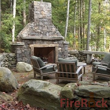 Pre engineered outdoor fireplaces are fast and easy for Engineered fireplace