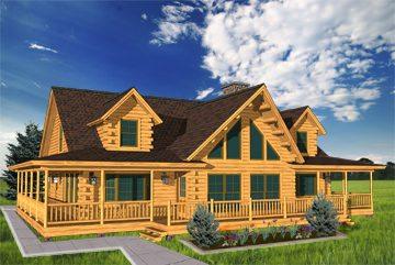 Cedar Log Home Plans Katahdin Cedar Log Homes