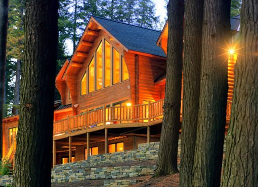 Log Home Plan #03206
