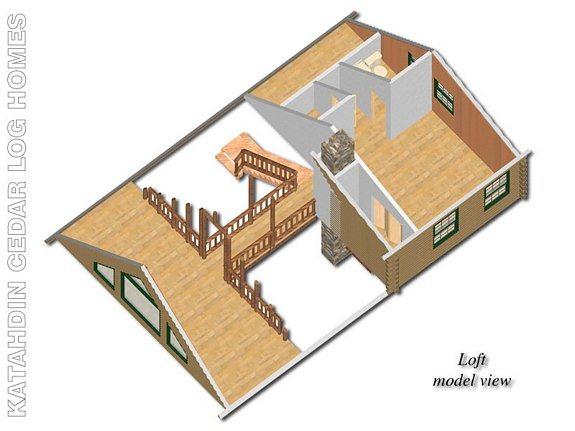 Denali Katahdin Cedar Log Homes Floor Plans – Cedar Log Home Floor Plans