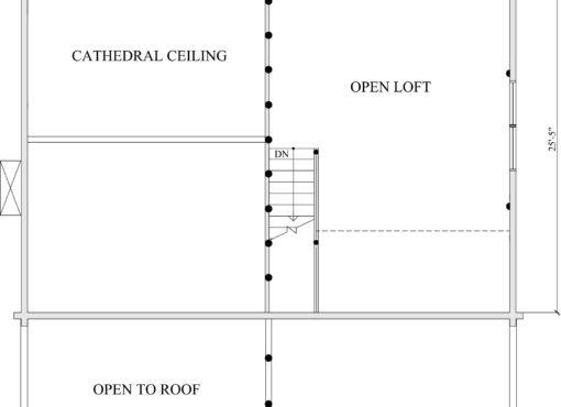Log Home Plan #02986