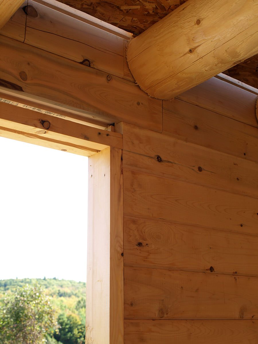 ... log home packages is the completeness of the materials included in the package. One essential u201cincludedu201d element are pre-cut window and door bucks. & Notes from the Construction Manual: Window and Door Bucks - Katahdin ...