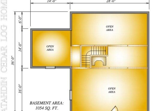 Burke-Bryer Basement Plan