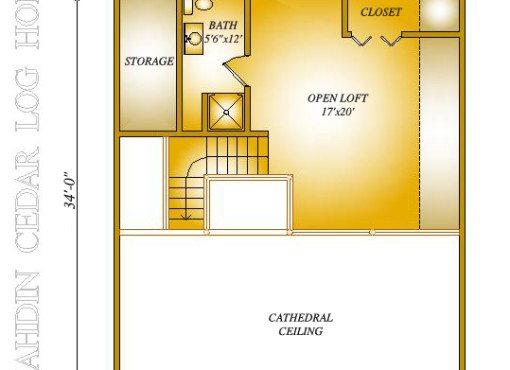 Burke-Bryer Loft Plan