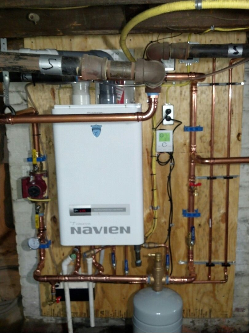 High Efficiency Tankless Combination Boilers