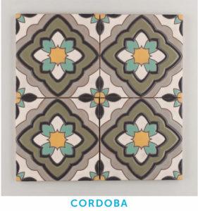 Cuerda Seca Handpainted tile by Fireclay Tile