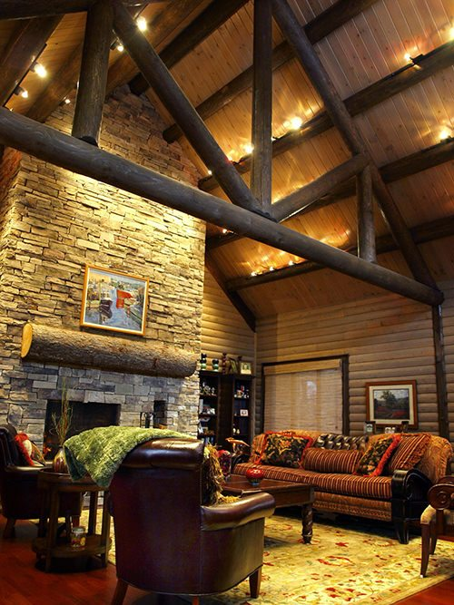 Rustic Themed Decorating Is A Por Route To Go In New Log Home While It Can Be Fun Option S Important Make Sure You Re Keeping Balance