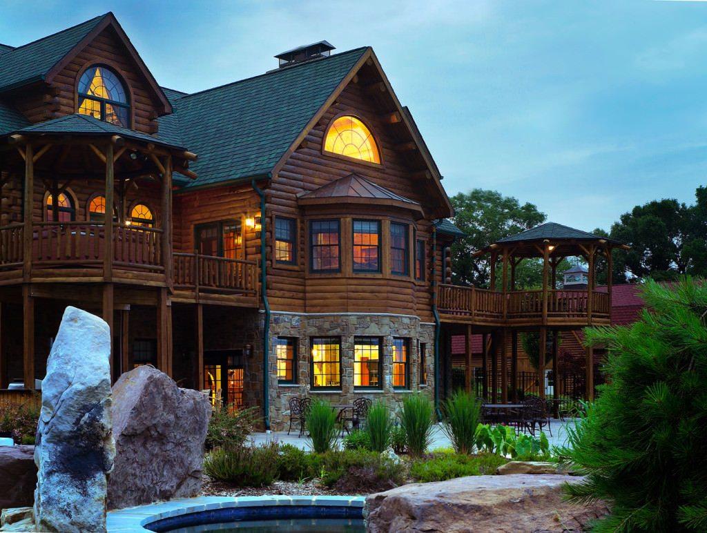 Exterior: Katahdin Cedar Log Homes
