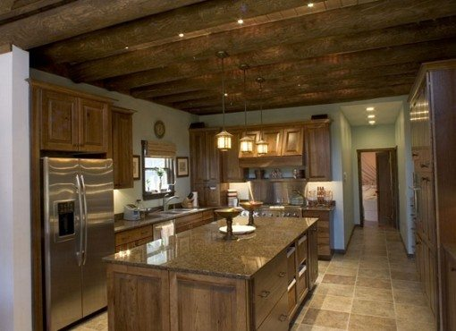 Doug Goodale's log home provided by Extreme Makeover: Home Edition of ABC Television.