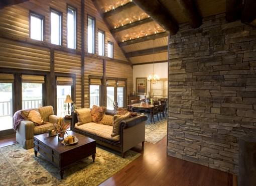 Log Home Plan #05999