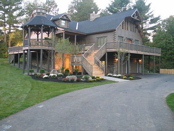 Log home plan 05999 katahdin cedar log homes floor plans for Extreme house plans