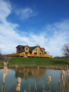 Rural log home financing