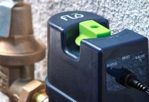 FLo leak detection monitors waterpressure to detect leaks in your Katahdin Cedar Log Home.