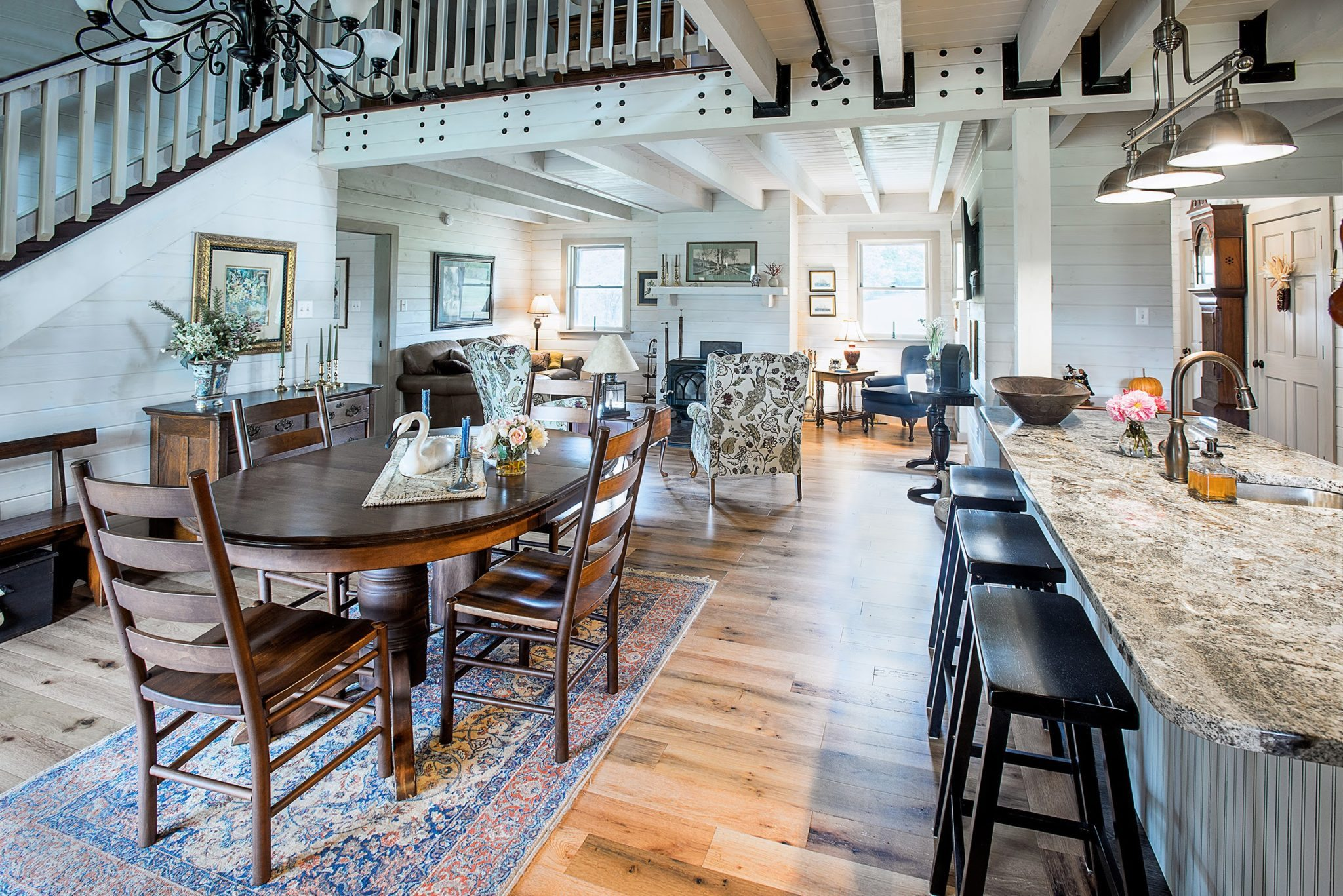 Love Farmhouse Style And Log Homes