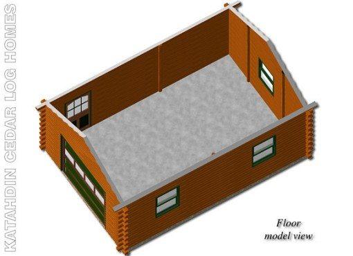 Garage-A-FloorModelView