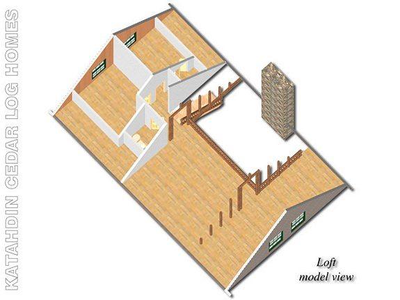 Hamilton Katahdin Cedar Log Homes Floor Plans – Cedar Log Home Floor Plans
