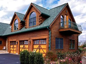Awe Inspiring Garage Doors Lift Systems Katahdin Cedar Log Homes Home Interior And Landscaping Ologienasavecom