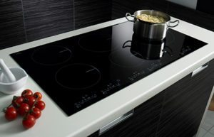 Induction range features