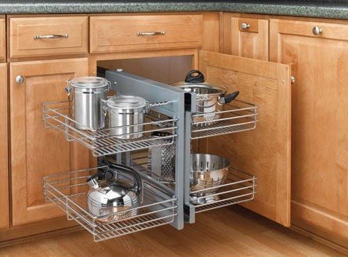Blind corner kitchen cabinets