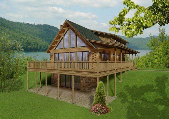 Kodiak Katahdin Cedar Log Homes Floor Plans – Cedar Log Home Floor Plans