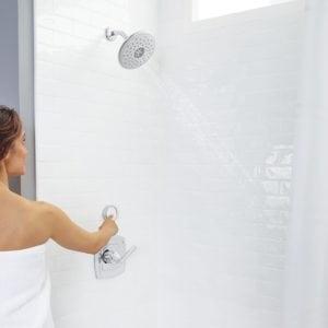 Spectra+ etouch shower head for universal design