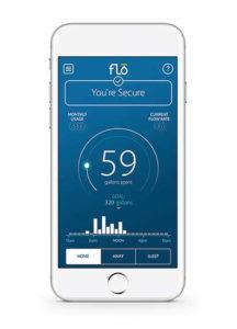 Receive smartphone alerts when flo detects a water leak in your Katahdin Cedar Log Home.